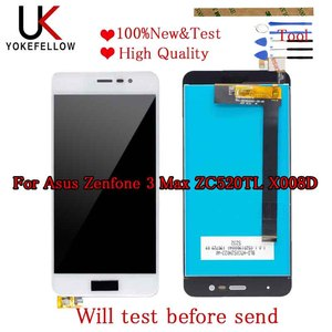 Image 1 - Good LCD 5.2 For Asus Zenfone 3 Max ZC520TL X008D LCD Display Touch Screen Panel Digitizer Assembly