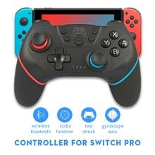 Senza fili di Vibrazione Gamepad Controller per Interruttore Bluetooth Joypad Remote Joystick per Switch di Console con Giroscopio Assi Funzione