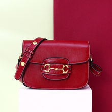 Echtes Leder Frau Sattel Paket 2020 Einzelnen Schulter Satchel luxus handtaschen frauen taschen designer wichtigsten femme de marque luxe