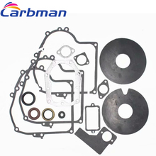 Carbman Replacement Gasket Set for Briggs & Stratton 391834 492653 Includes Seals