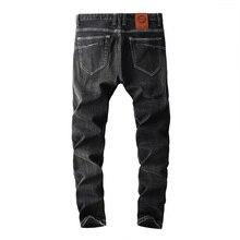 2019 New Arrival moda Dsel marka mężczyźni dżinsy myte dżinsy z nadrukami dla mężczyzn dorywczo spodnie projektant dżinsy mężczyzn! 702 A