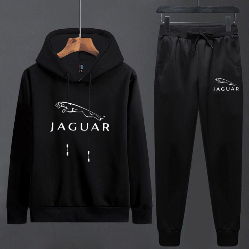 YASUGUOJI New Fashion Men Sweatsuits 2 Piece Mens Track Suit Set Spring Autumn Hoodie Sweater Jacket Ropa Para Hombre Casual