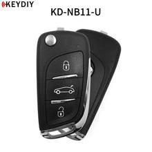 5 adet, KEYDIY orijinal KD900/KD X2 anahtar programcı NB11/NB11 2 evrensel çok fonksiyonlu DS tarzı uzaktan tüm B ve NB serisi
