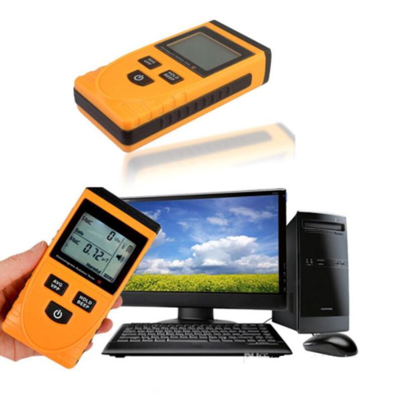LCD Radiation Dosimeter Meter Handheld Digital Electromagnetic Field Radiation Tester Detector Counter For Magnetic Field GM3120