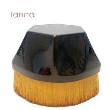 Кисть для макияжа ianna MB55, шестигранная, для тонального крема, гладкая, с полным покрытием, жидкость/Крем