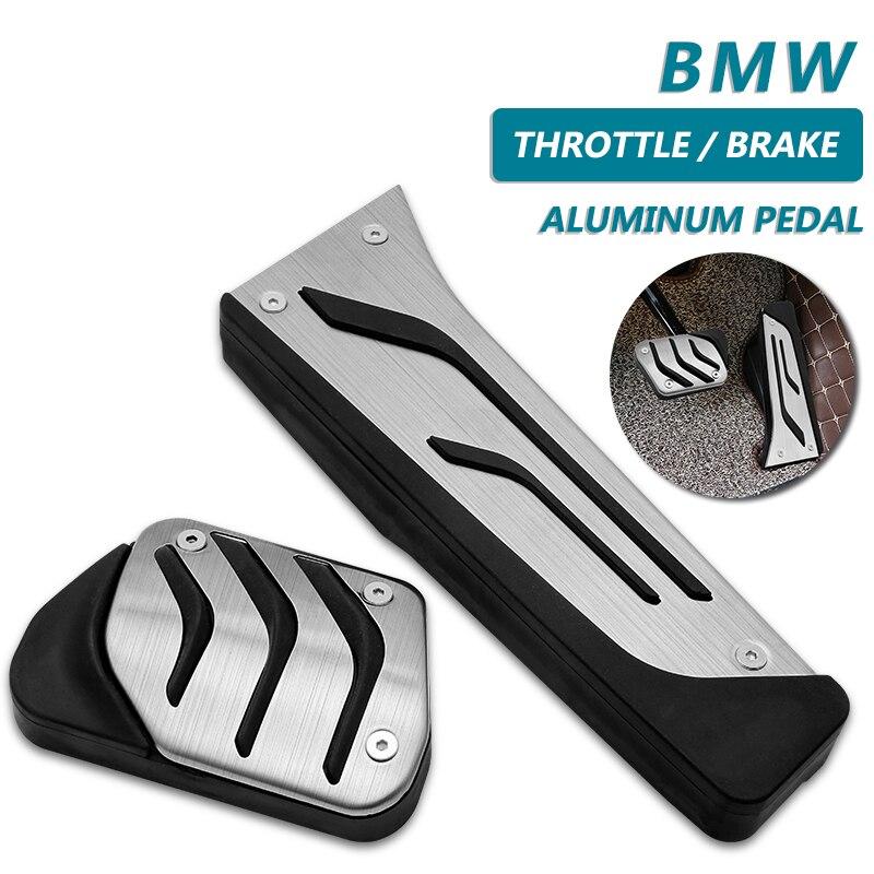 2 шт./компл. автомобиля педаль акселератора педаль BrakeFootrest педаль Защитная крышка для BMW X3(F25/G01) X4 X5(F15/G05) X6(F16) F30 G20
