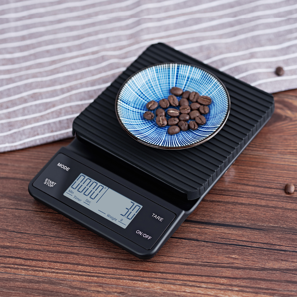 Bluetooth Smart APP Food Nutrition Kitchen Scale 0.1g - 3kg With Timer Alarm