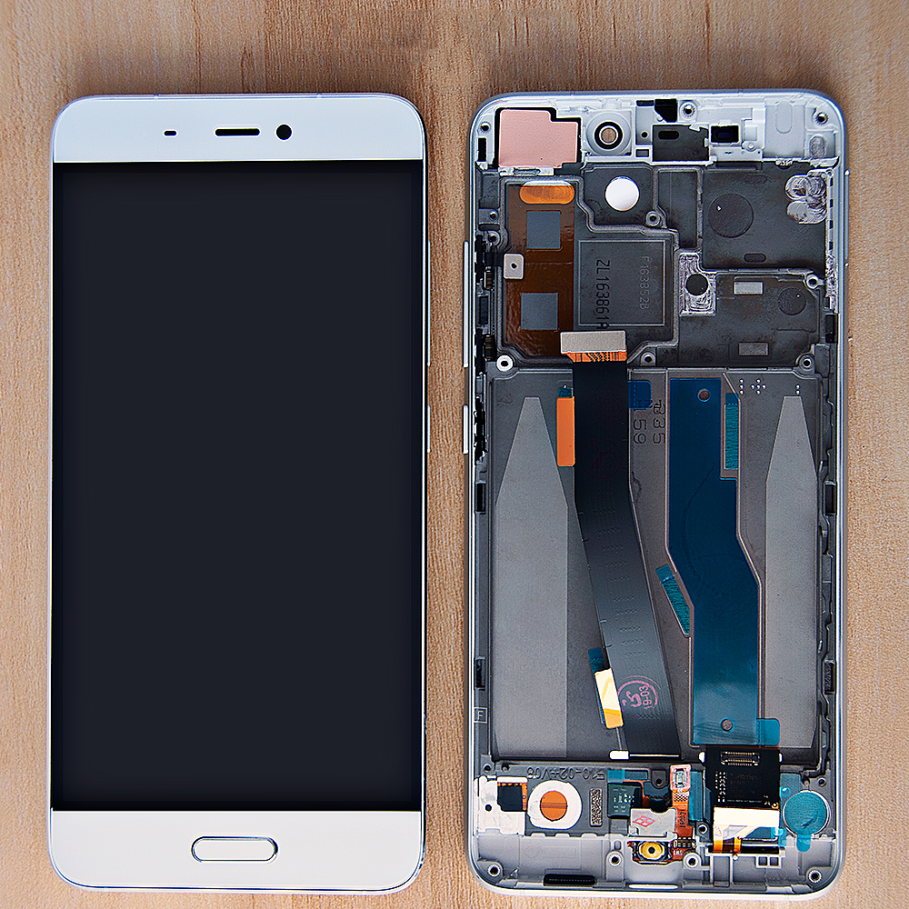 Original 5.15'' Display For Xiaomi Mi 5 Mi5 LCD Touch Screen Digitizer Assembly Frame Replacement For Xiaomi Mi 5 LCD