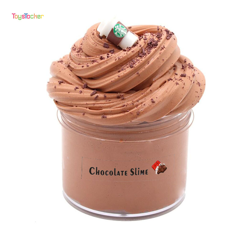 Antistress Toys Chocolate Color Mixing Cloud Slime Putty Scented Stress Kids Clay Toy Anti Stress Games For Kids Funny Gift