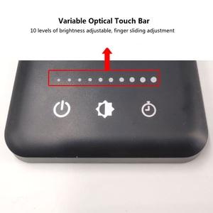 Image 4 - 52pcs 2835 LED Desk Lamp Foldable Dimmable Rotatable Eye Care LED Touch Sensitive Controller USB Charging Port Table Lamp