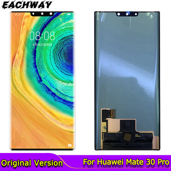 AMOLED Mate 30 Pro Display for Huawei Mate 30 Pro LCD Display Touch Screen Digitizer Repair mate 30 Pro LCD LIO-AL00 фото