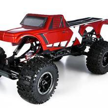 1/8 масштабный пульт дистанционного управления 6X6 6WD 6 колес ROCK Cralwer Truck RC SPARKS подарок на день рождения для мальчика