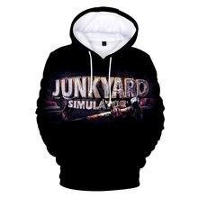 Новинка 2020 толстовка с капюшоном и 3d принтом из игры junkyard