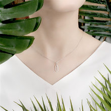 S925 Fine Silver Metal Chain Necklace Hot Sales Fashion Diamond Set WOMEN'S Necklace a Generation of Fat(China)