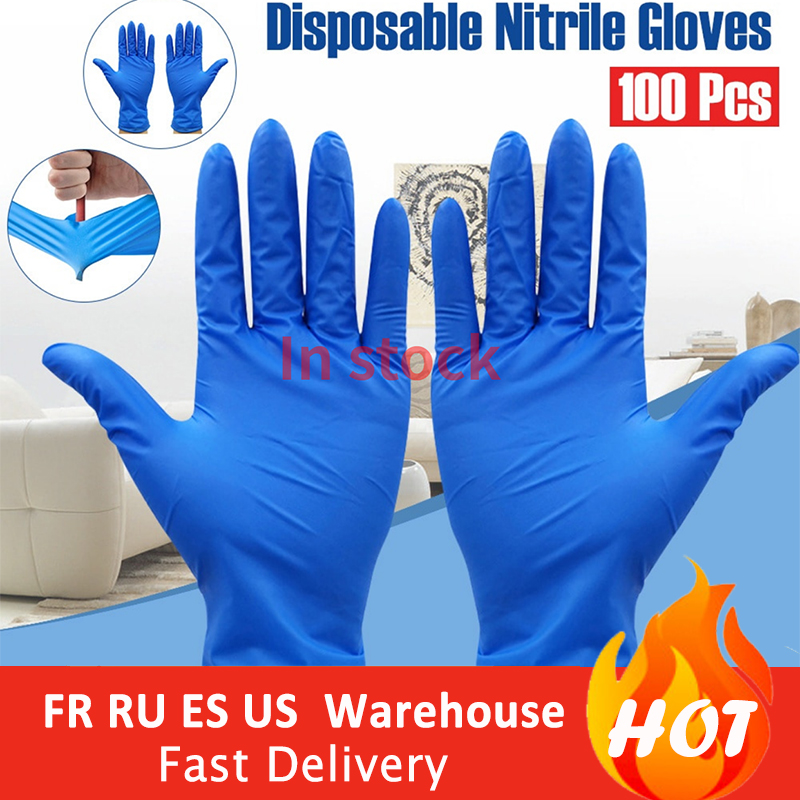 100PCS/Set Food Plastic Safe Gloves Disposable Gloves For Restaurant Kitchen Eco-friendly Food Gloves Fruit Vegetable Gloves