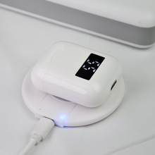 Бесплатная доставка, автоматическое безопасное беспроводное зарядное устройство для Apple AirPods 2 Pro Airpod наушники QI Charging Pad TWS Bluetooth наушники