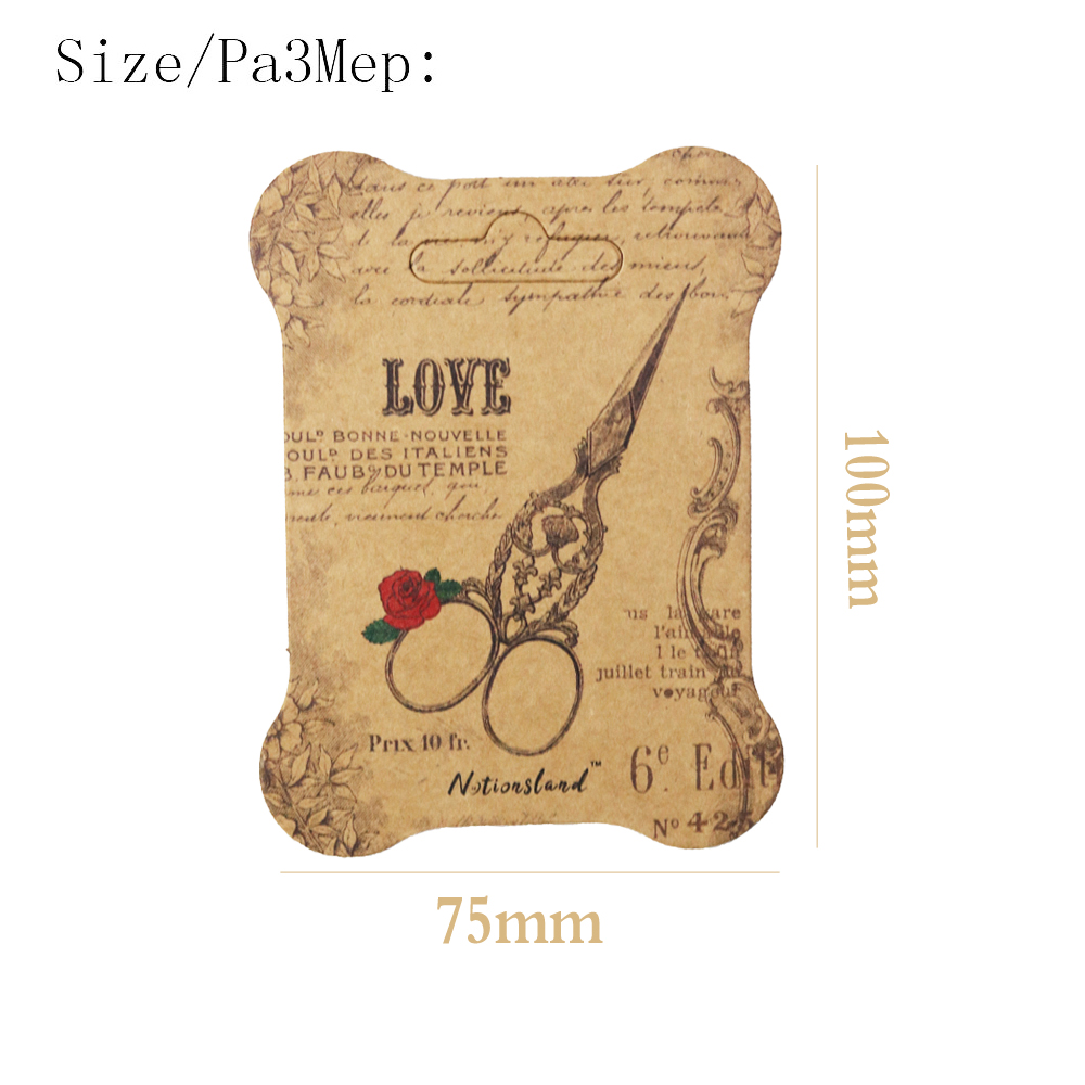 100pcs Paper Thread Card Embroidery Thread Bobbins Floss for Storage Holder Cross Stitch Paper Winding Board in Sewing Tools Accessory from Home Garden