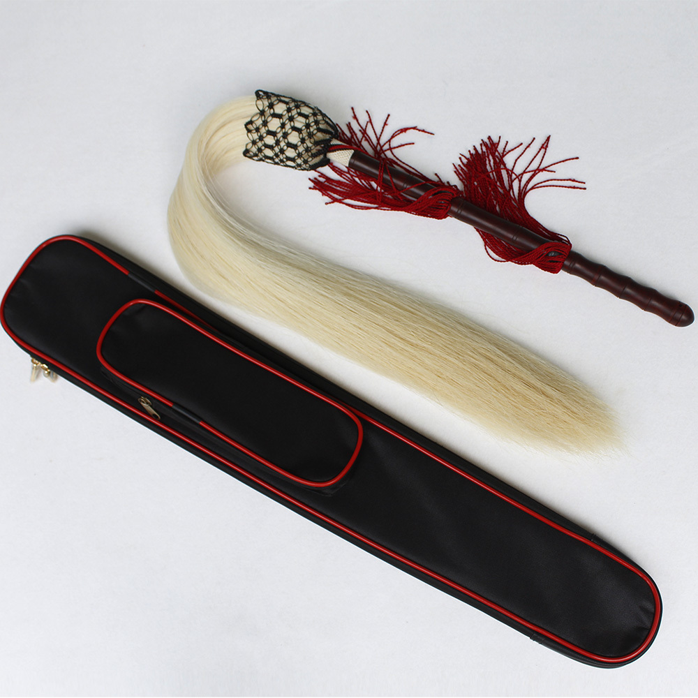 Really Ponytail Whisk Tai Chi Whisk Dust Whisk Buddha Dust Flies You Magic Sandalwood Handle Send Package