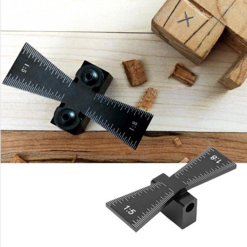 EDC woodworking locator 1 5 1 8 dovetail microtechnology precision measuring tool in Hand Tool Sets from Tools