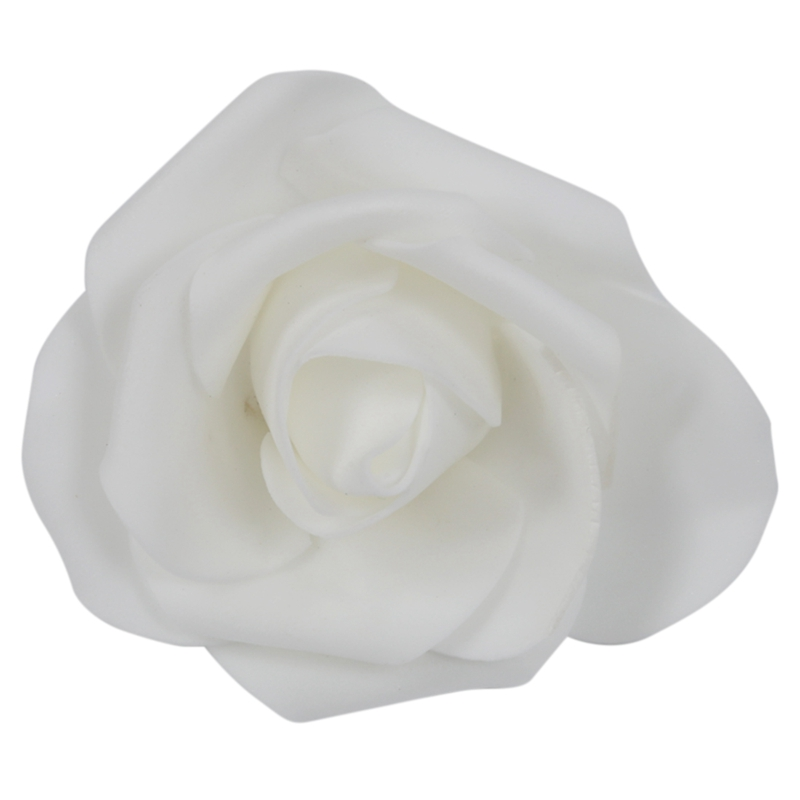 Top-200PCS бутон из пенопласта для свадебных вечеринок, искусственные цветы, сделай сам, 100 шт, белые и 100 шт, красные