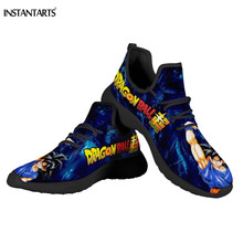 INSTANTARTS Dragon Ball Z Anime Women's Shoes Sping Summer C