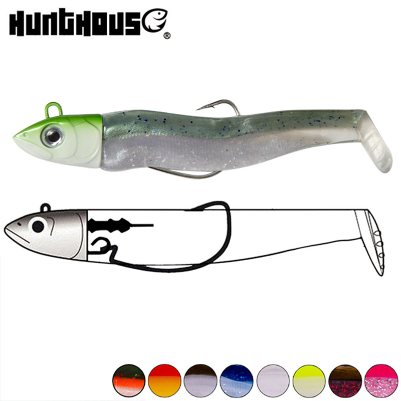 Hunthouse Fishing Minnow Black Black Minnow Head 25g 40g 60g 90g 120g  90mm 110mm 125mm 135mm 155mm Minnow Black Leurre Souple