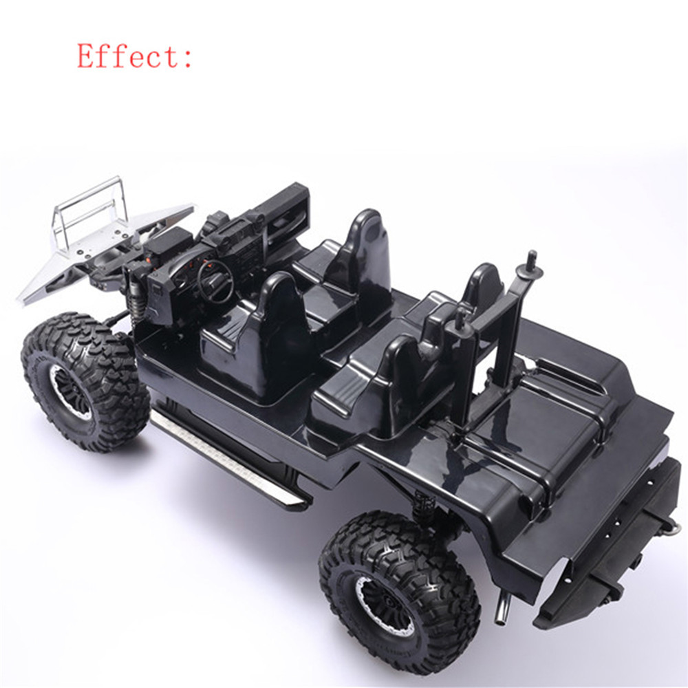 Replacement Climbing Car ​Transparent Case Interior Decoration Of The Simulator For DJ Traxxas Trx4 Defender Rc Car D110 Parts