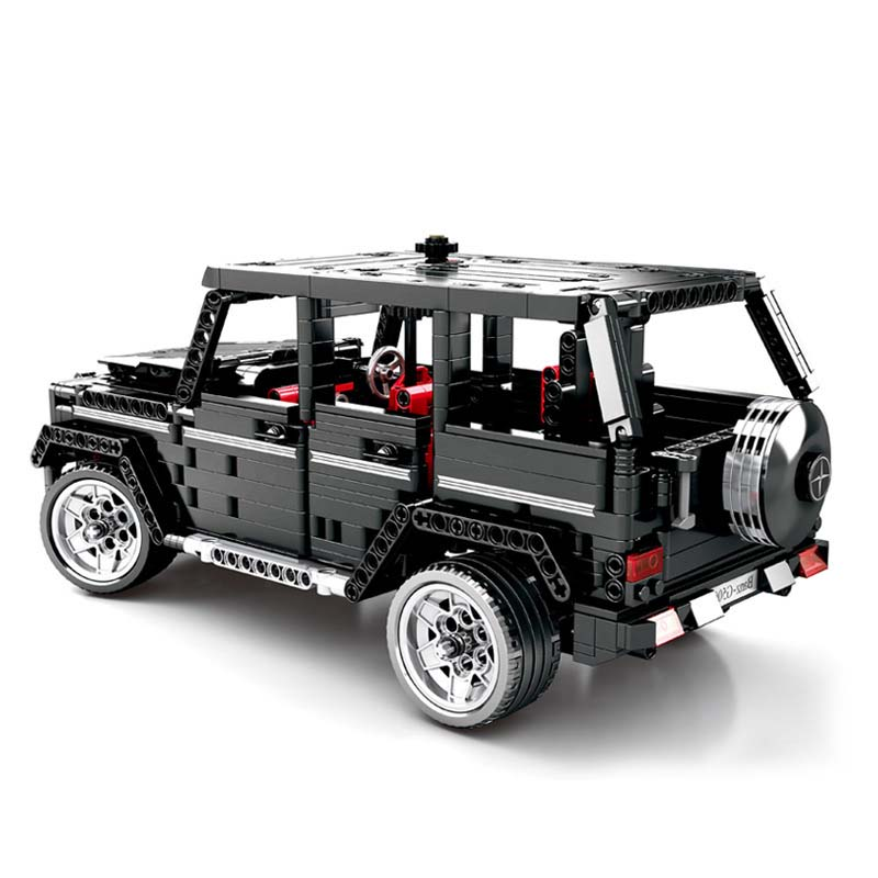 Image 2 - RC Motor Technic 20100 MOC 2425 SUV G500 AWD Wagon Car Sets Fit Legoing Building Blocks Electric Bricks Toys Gifts For Children-in Blocks from Toys & Hobbies