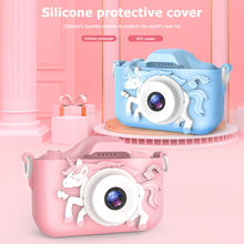 Kids Camera Mini Children Cute Toy HD Wifi for Boys Girls Birthday-Gifts Horse Education