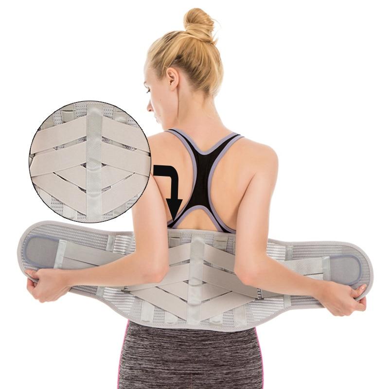 Sport Weightlifting Waist Support Belt Safety Gym Fitness Belt Squatting Barbell Dumbbel Training Lumbar Back Support