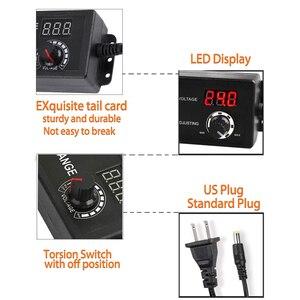 Image 3 - Adjustable AC to DC 3V 12V 3V 24V 9V 24V Universal adapter with display screen voltage Regulated 3V 12V 24V power supply adatper