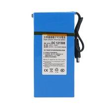 DC12V Super Capacity 15000MAH Powerful Rechargeable Li-ion Battery Backup Li-ion Battery For CCTV Camera Wireless Transmitter