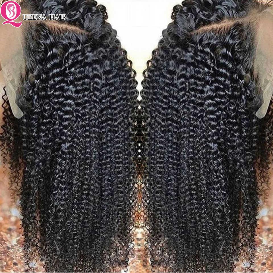 Krullend Lace Front Menselijk Haar Pruiken Voor Zwarte Vrouwen Pre Geplukt 13X6/13X4 Transparant Kant Pruik Peruaanse 360 Kant frontale Pruiken Remy