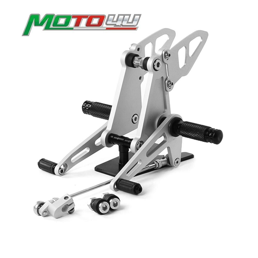Repose-pieds réglable en aluminium, pour moto Honda CB500 CB 500 1998 2003 montage pour siège arrière montage pour siège arrière 1999 2000 2001
