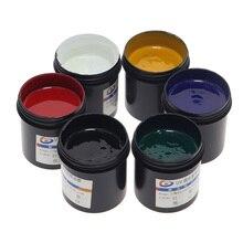 Máscara UV placa de circuito de tinta PCB luz aceite sólido UV aceite genuino 100 g UV luz curado soldadura tinta soldadura Máscara de Soldadura uv