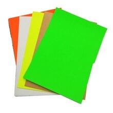 Цвет А4 Размер может Авто самостоятельно стикер цветная бумага и рекламные Стикеры бумага