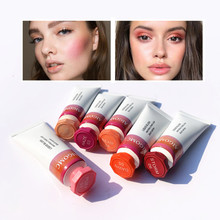 AIGOMC New Makeup Blush Liquid Woman's Fashion Pink Decoration Blusher Matte Nud