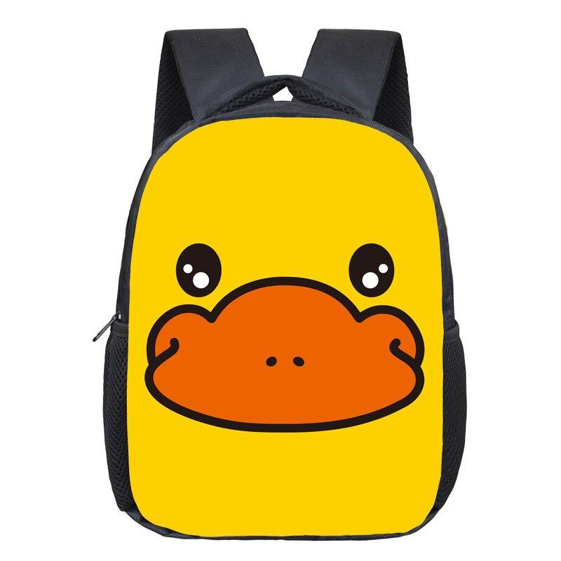 Hot Sales Platypus Cartoon-Style Kindergarten Backpack Children Shoulder School Bag