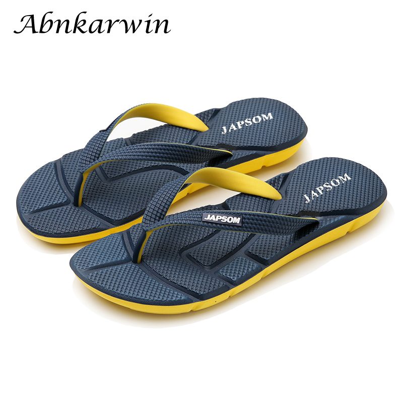 Flip-Flops Men Slipper Light Chanclas-De-Hombre Summer Home Indoor Uomo Infradito Japonki title=