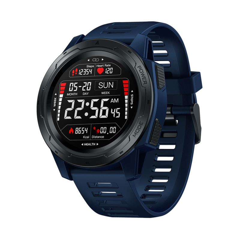 Zeblaze VIBE 5 PRO Full Touch Color Screen Smart Watch Extra Long Standby IP67 Waterproof 1.3 inch Sports Pedometer Smartwatch