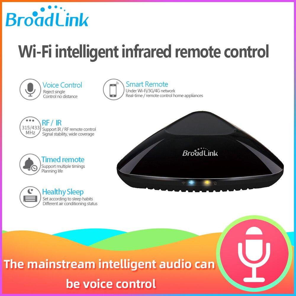 Broadlink Rm Pro 2019 Intelligent Smart Home Automation WIFI Switch WIFI+IR+RF+4G Work Google Home Alexa Broadlink Rm Mini 3 SC1