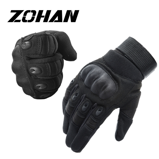 ZOHAN gloves knuckles Shooting Gloves for Hunting  men military tactical gloves outdoor Riding Touch-Screen  Breathable 1