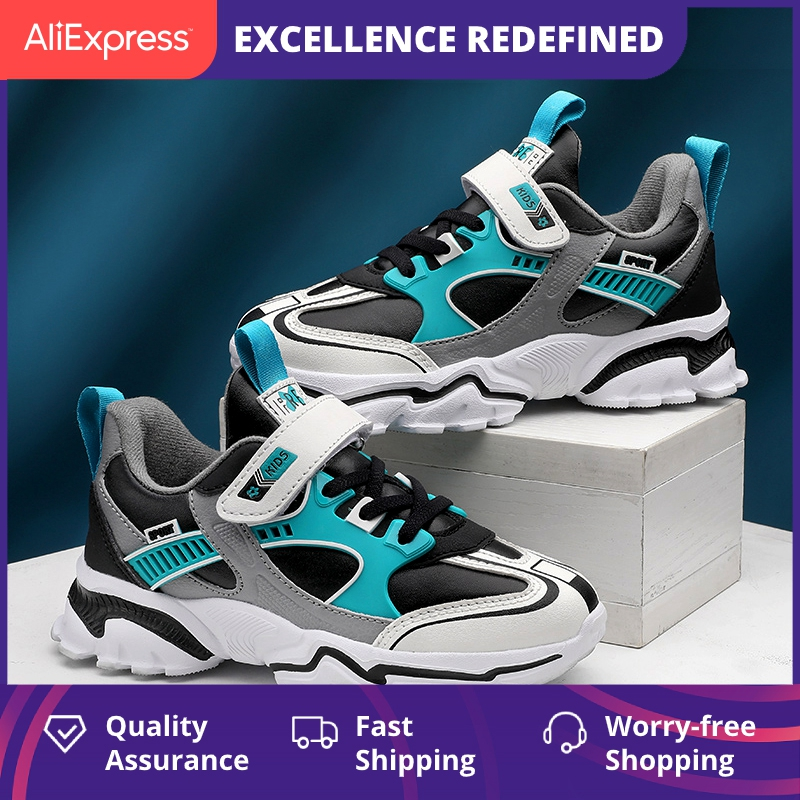 Spring Kids Fashion Sneakers For Boys Breathable Sports Running Shoes Lightweight Children Summer Casual Walking Shoes For Girls
