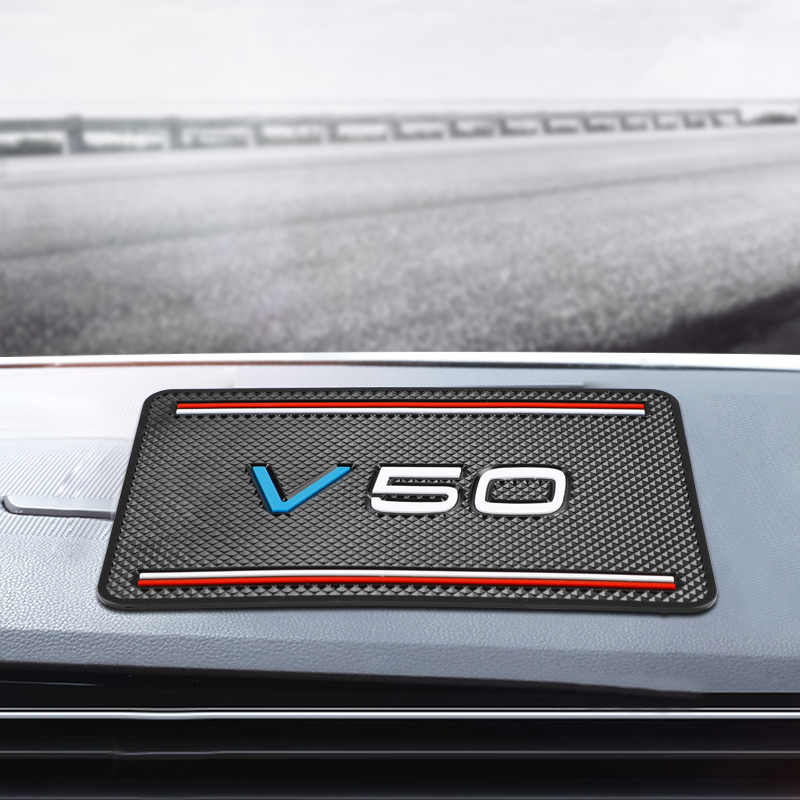 Car Anti Slip Mat GPS Phone Holder Non-Slip Mat Pad for <font><b>Volvo</b></font> <font><b>V50</b></font> V70 V90 XC40 XC90 XC70 Accessories Car <font><b>Styling</b></font> image