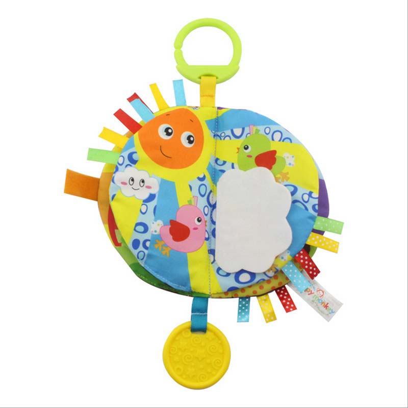 Pudcoco Baby Animal Cloth Book New Infant Kid Intelligence Development Toy Forest Sky Educational Bed Cognize Books Gift