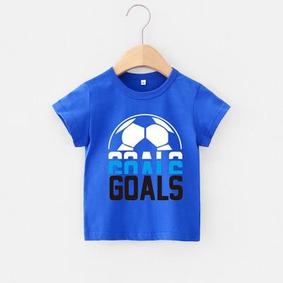VIDMID 2-6Y boys Clothing Summer Children Infant Kid Boys shirts basic Cartoon Dinosaur Letter T-shirt Tops Shirts Tees 4018 31 4