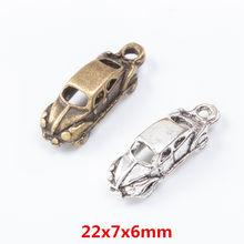 25 peça encantos do carro liga de zinco jóias artesanato diy pulseira colar metal jóias acessórios descobertas 7619