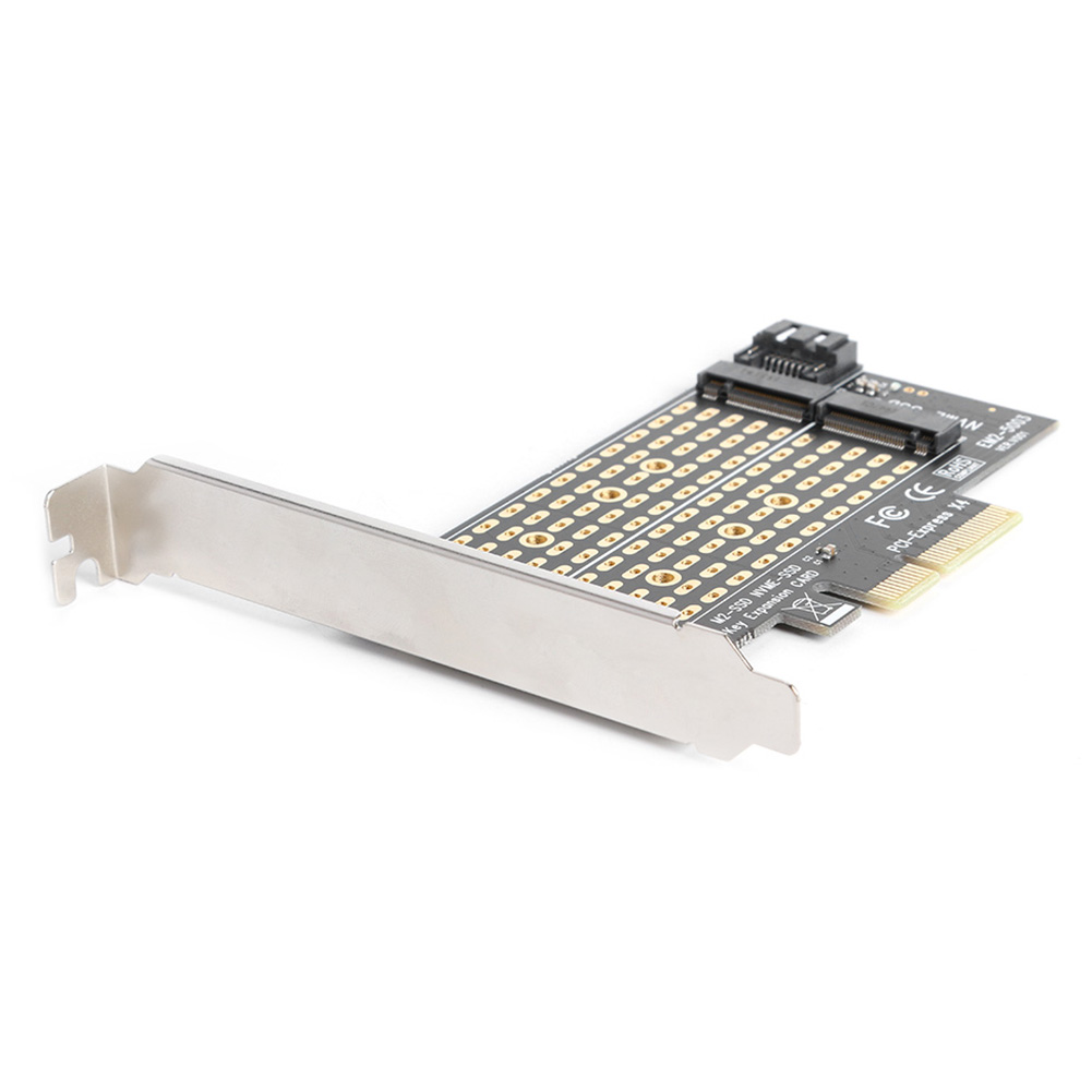 Adapter Expansion Card M+B Key M.2 NVME SSD to PCIE SATA Household Computer Safety Parts for 2230 2242 2260 2280 2
