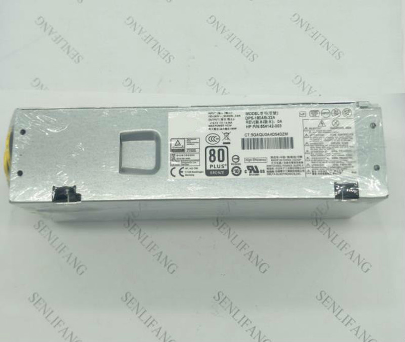 Working 900702-001 854142-003 001 DPS-180AB-22 A PA-1181-7 Original For  280G2 SFF 180W Power Supply Well Tested
