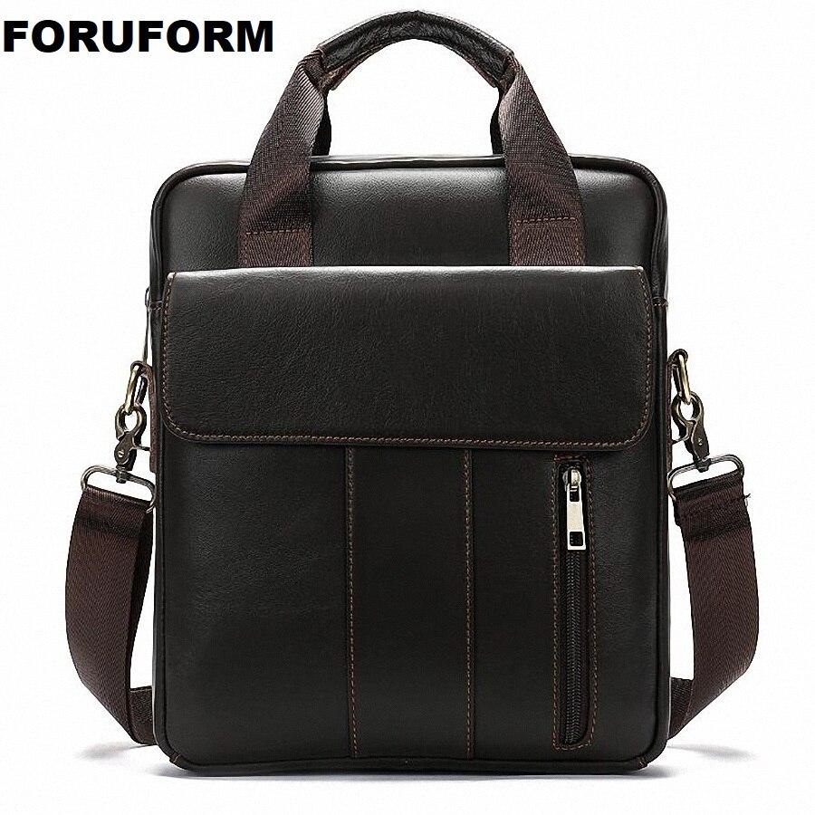 Kleine Aktentasche männer Umhängetasche Männer Leder Schulter Taschen Mann Business Umhängetaschen Mini Männlichen Leder Handtasche LI-2585